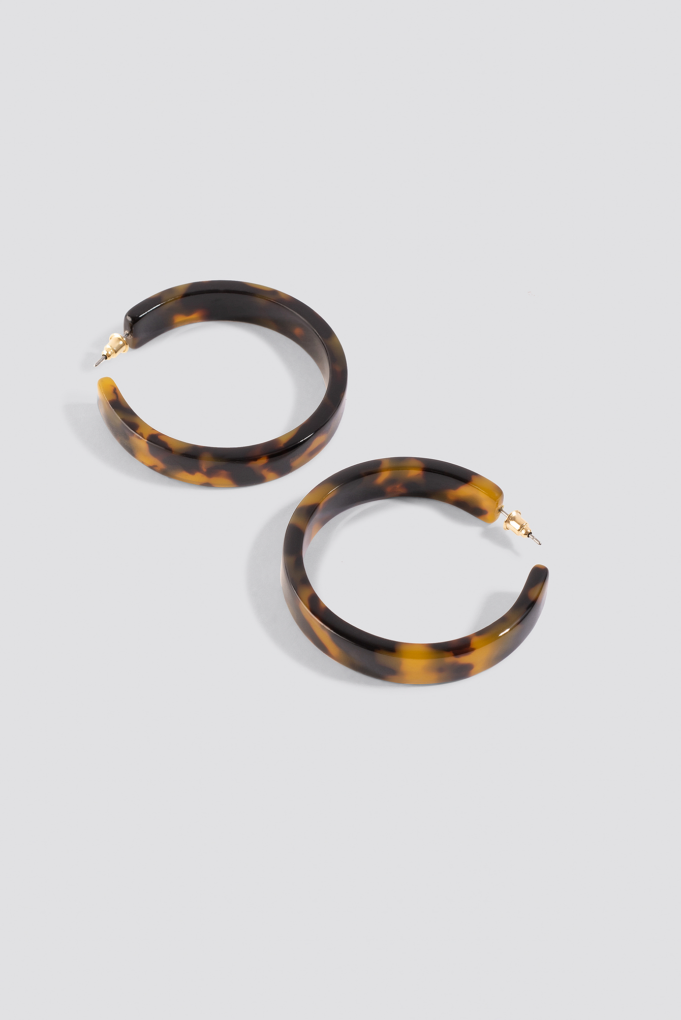 Medium Resin Hoop Earrings NA-KD.COM