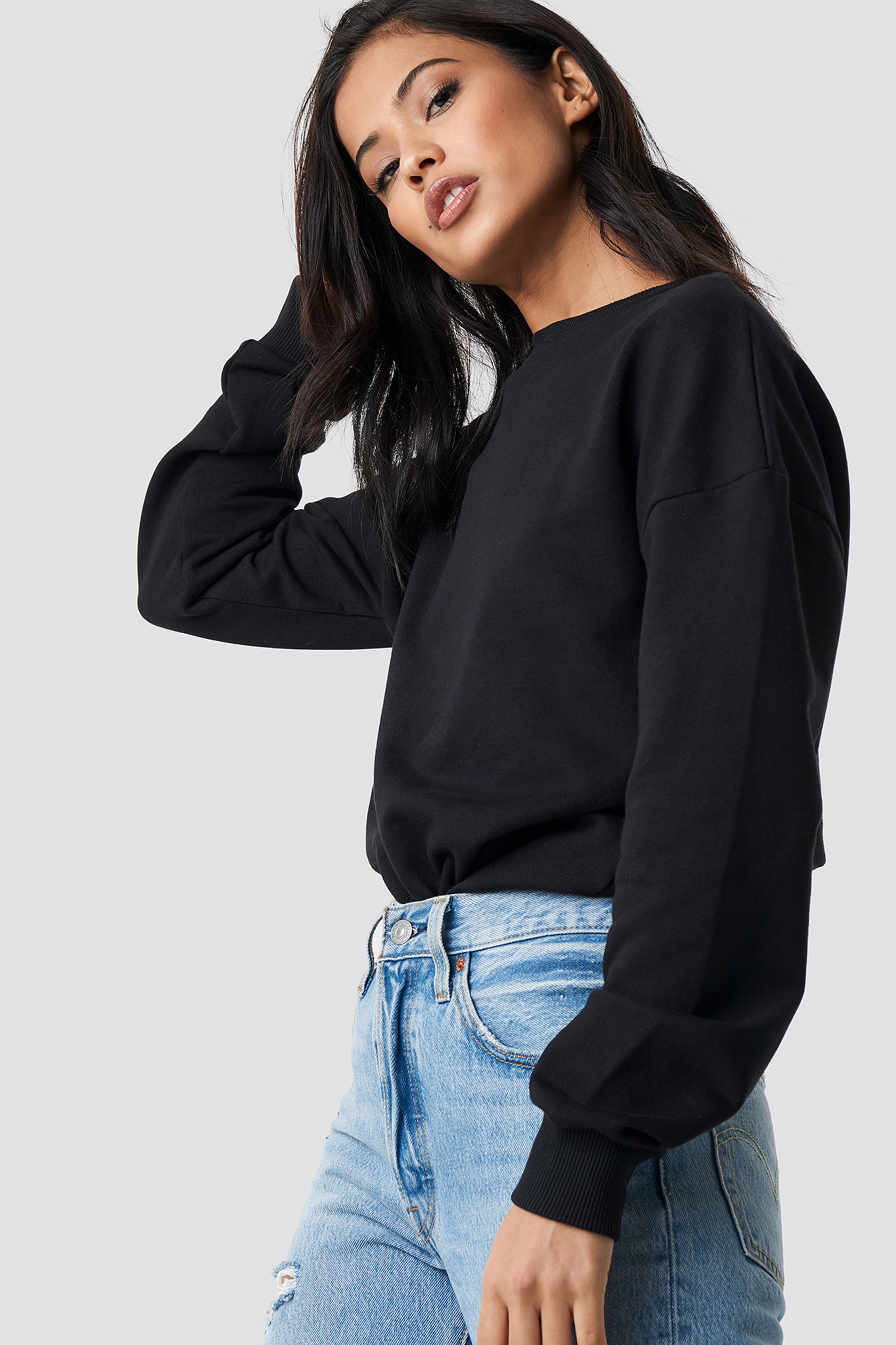 Mentally Gone Oversized Sweatshirt NA-KD.COM