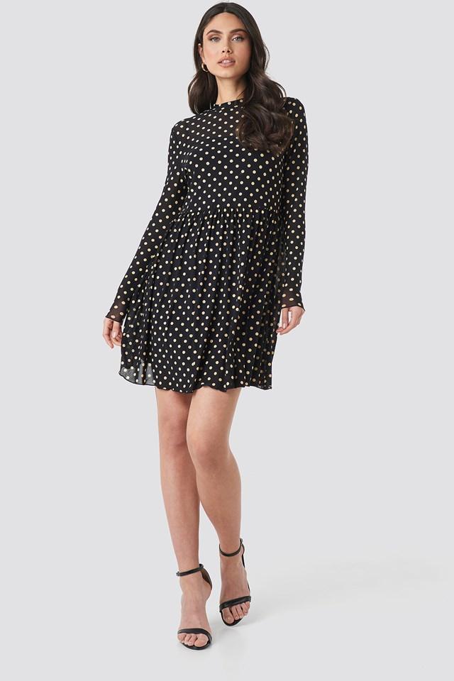 Mesh Dot Dress NA-KD.COM