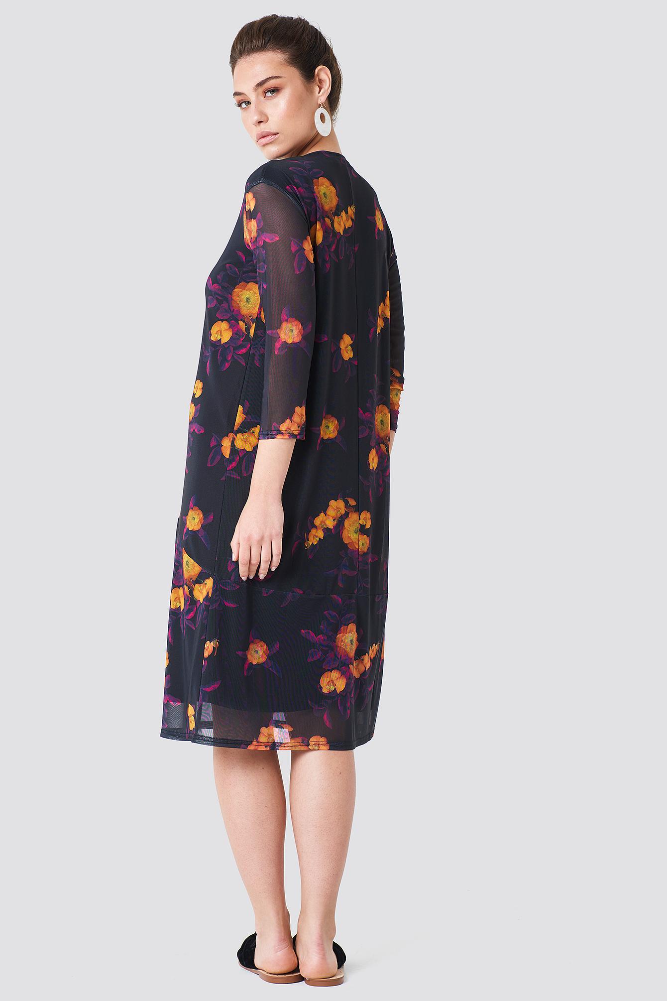 Mesh Knee Dress NA-KD.COM