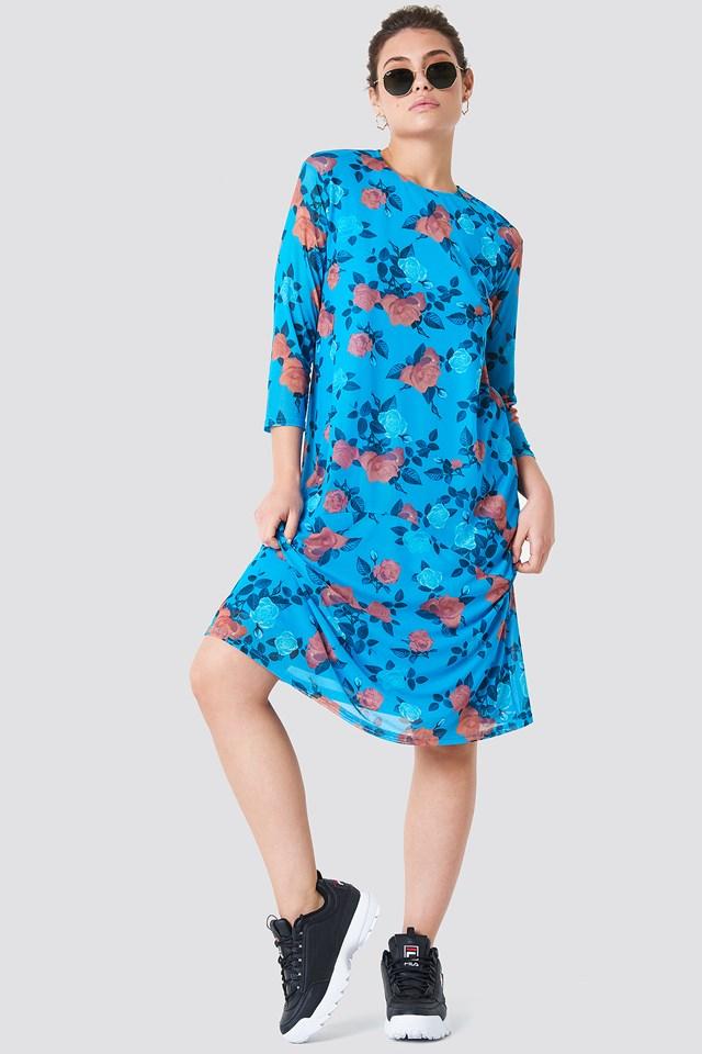 Mesh Knee Dress NA-KD
