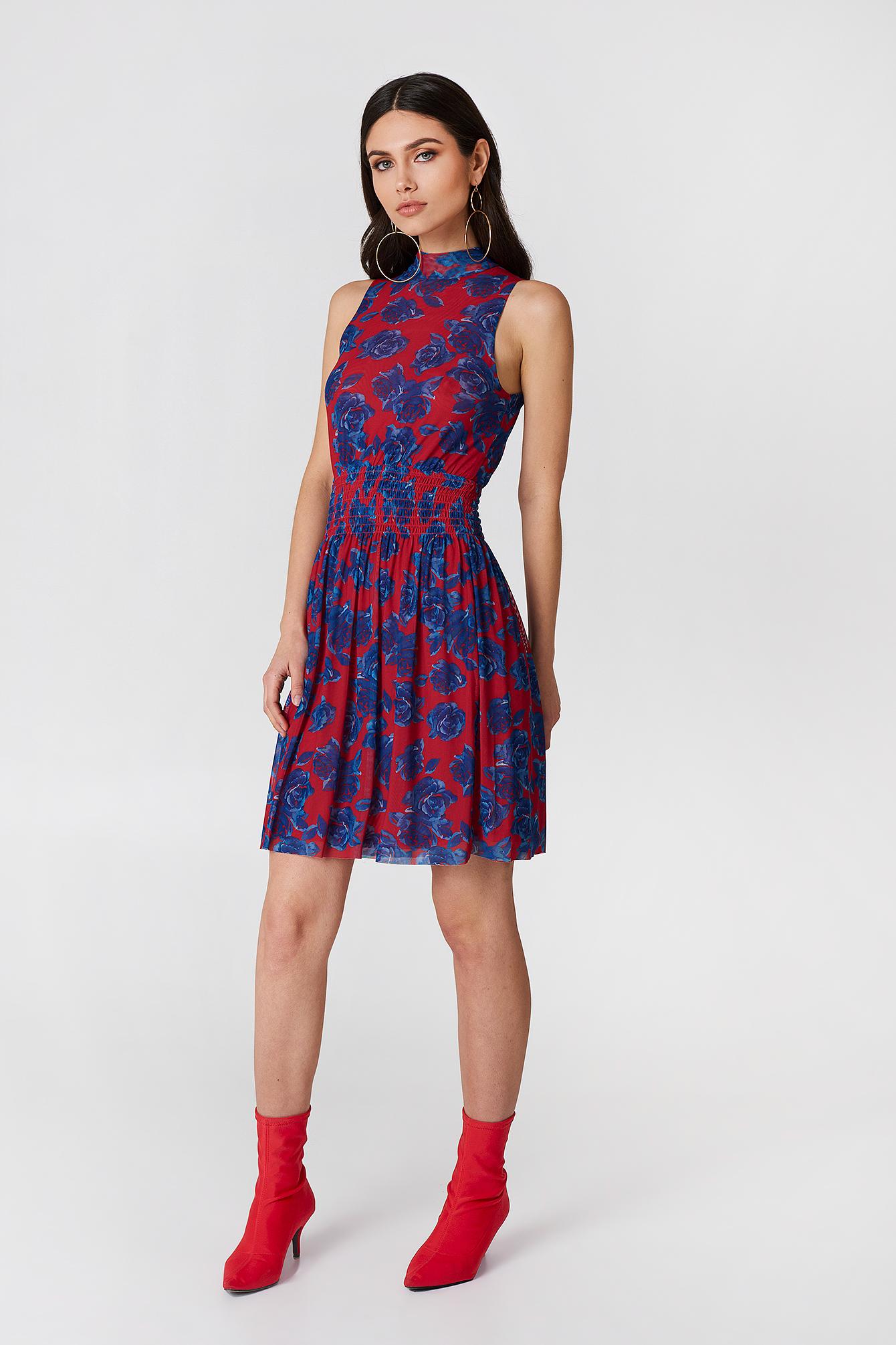 Mesh Smock Dress NA-KD.COM