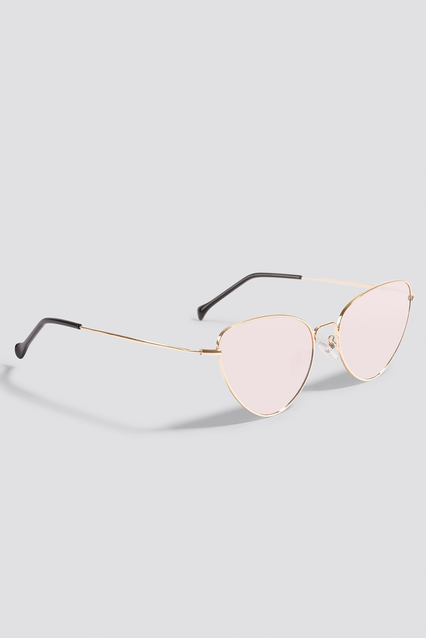 Metal Frame Cat Eye Sunglasses NA-KD.COM