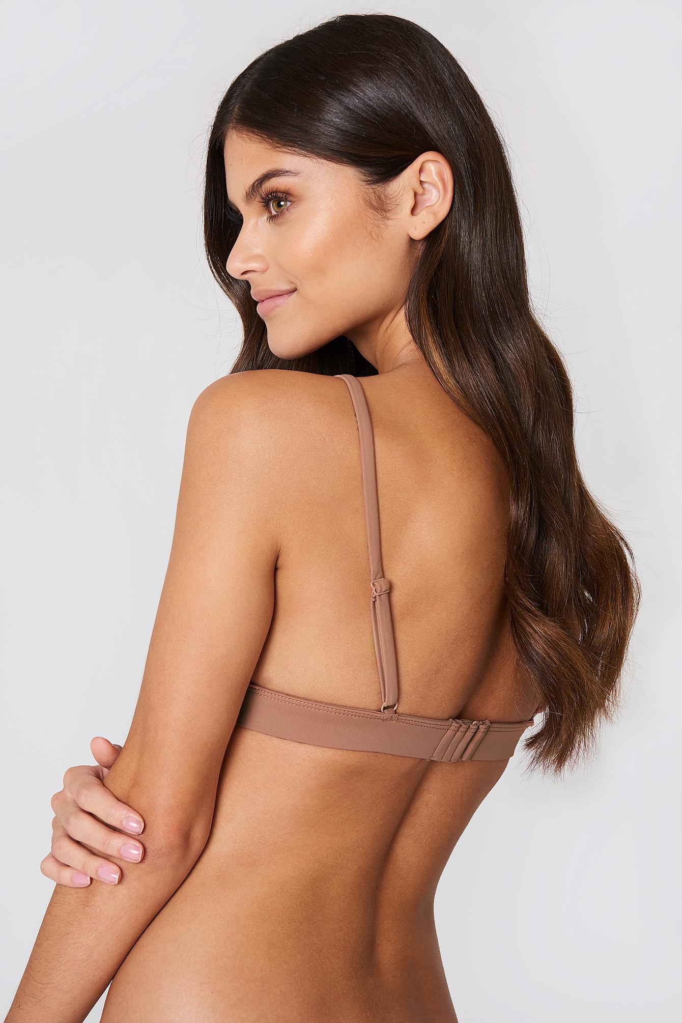 Metal Loop Bikini Bra NA-KD.COM