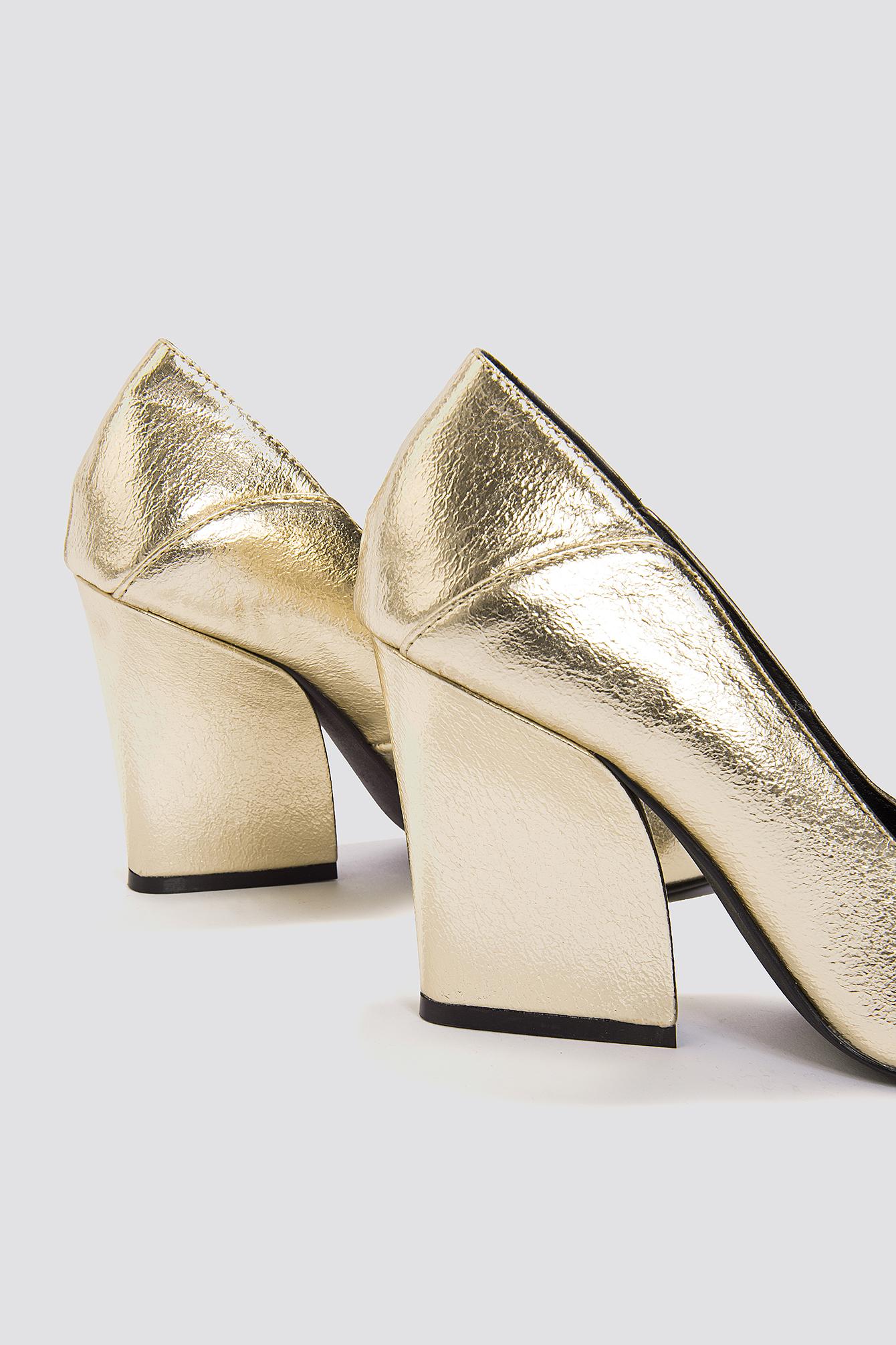 NA-KD Metallic Pointy Heels kkgxmqg