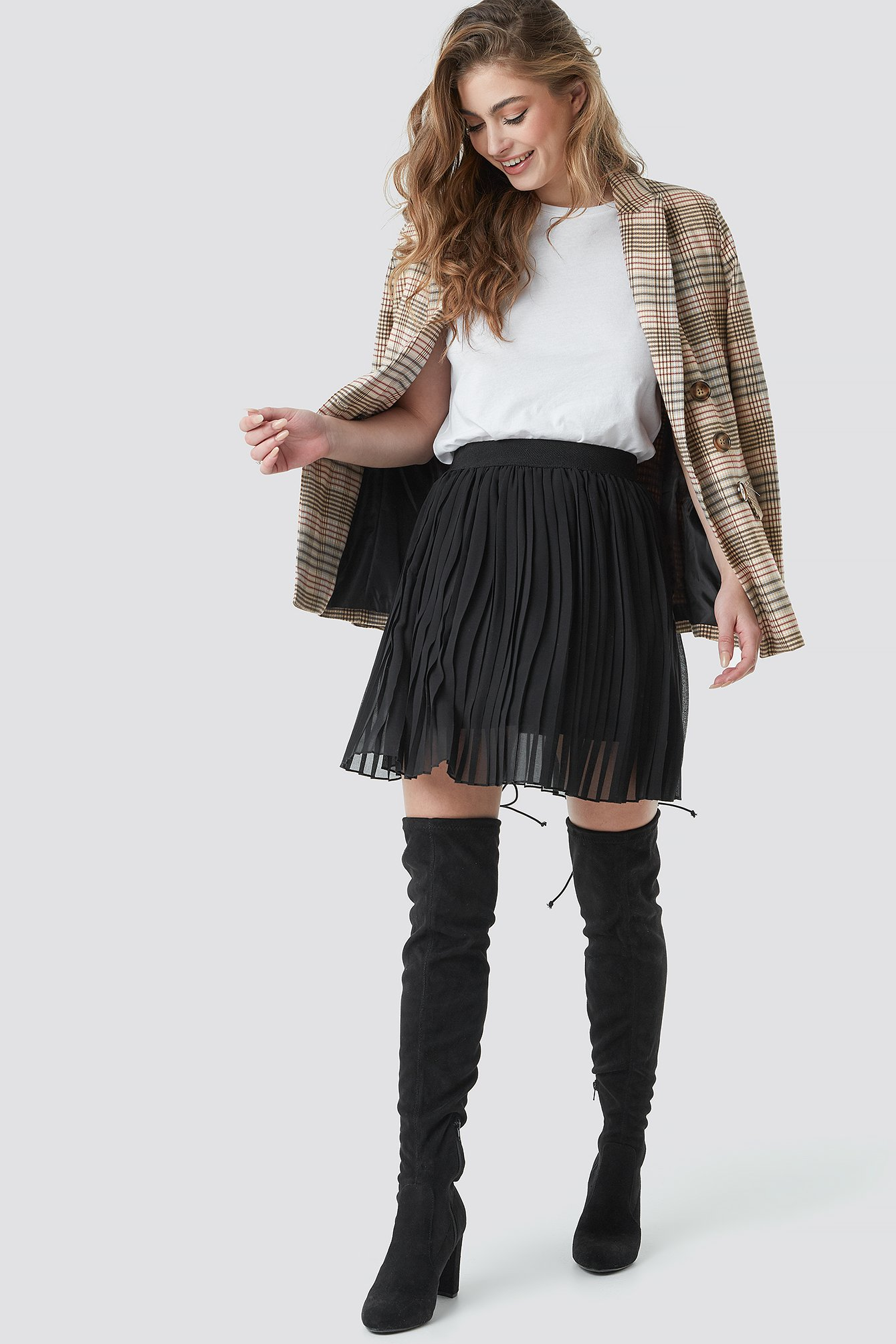 Pleated Mini Skirt NA-KD.COM