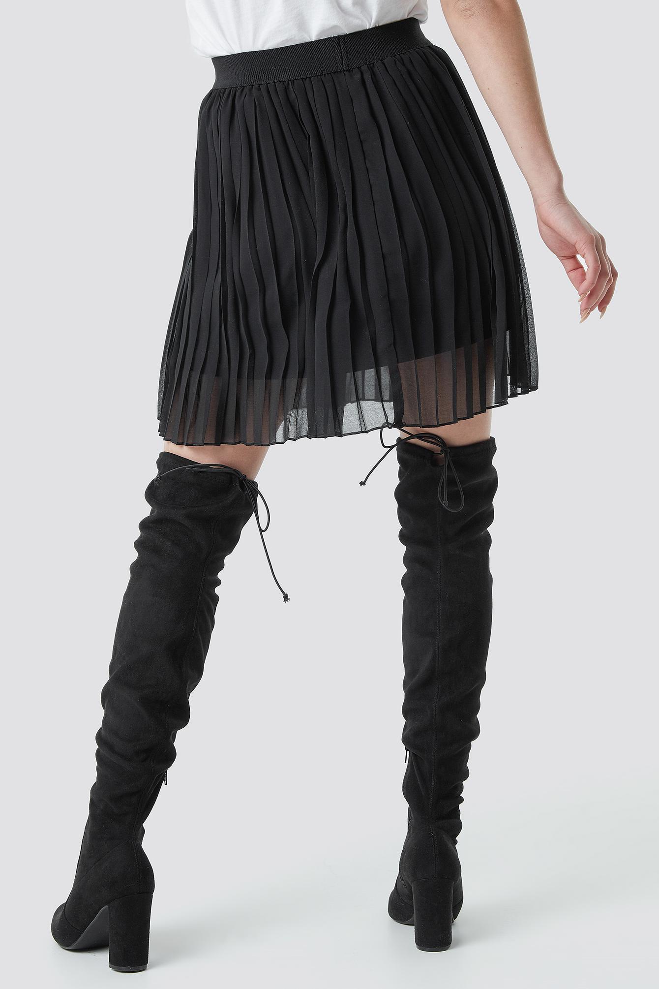 Pleated Mini Skirt NA-KD.COM
