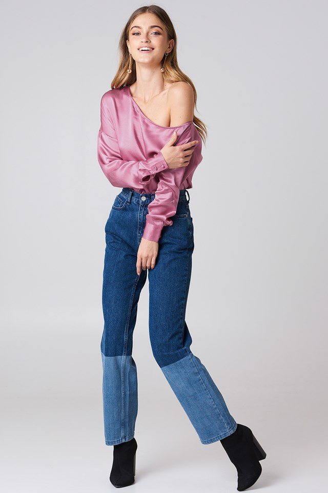 Mikaela Blouse Dusty Pink