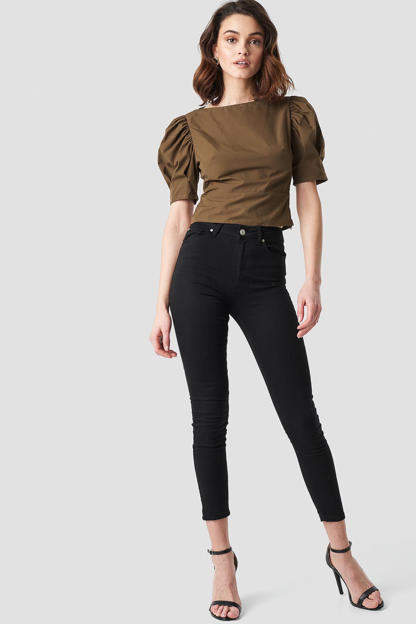 Milla Skinny Jeans NA-KD.COM