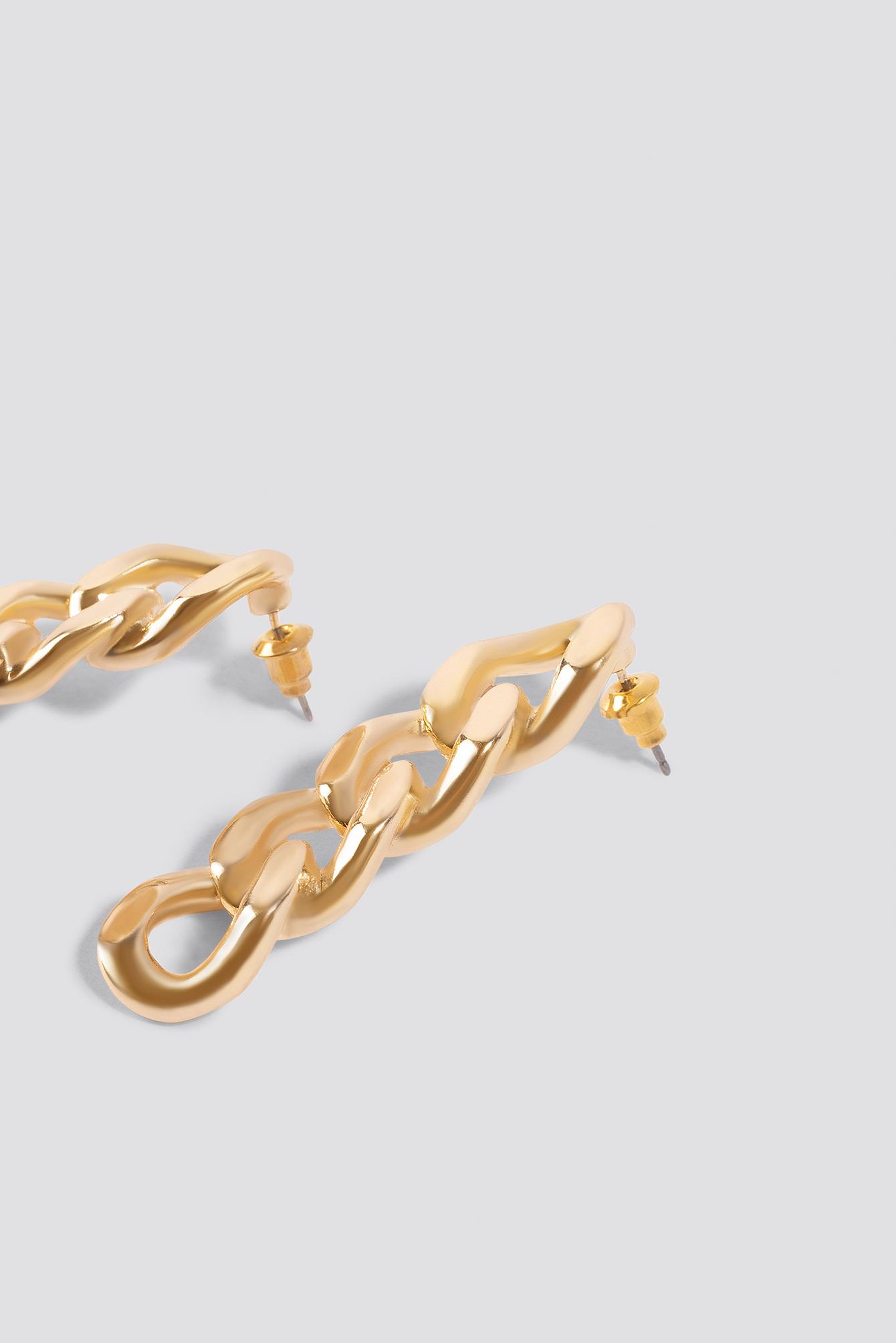 Mini Chain Earrings NA-KD.COM