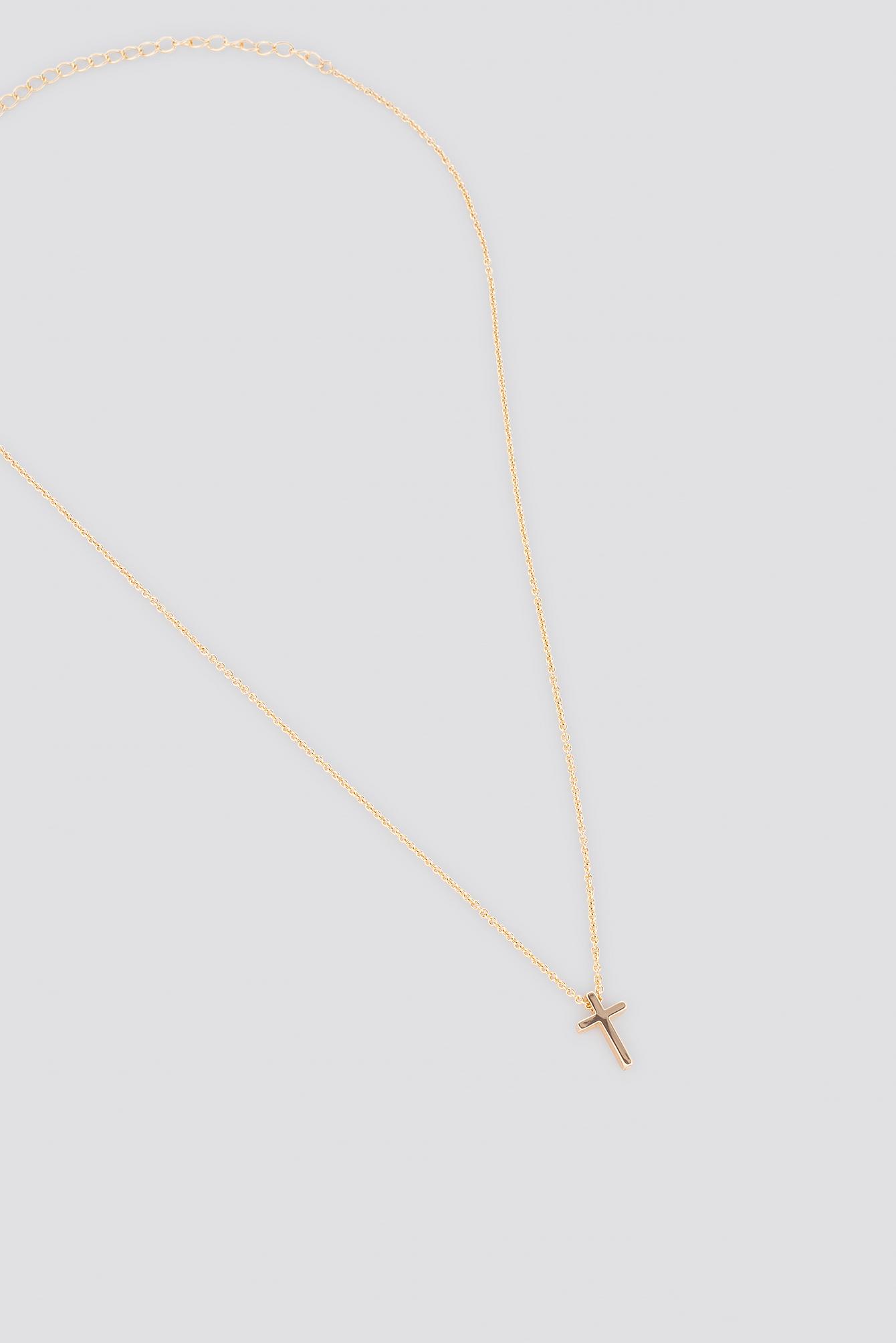 Mini Cross Necklace NA-KD.COM