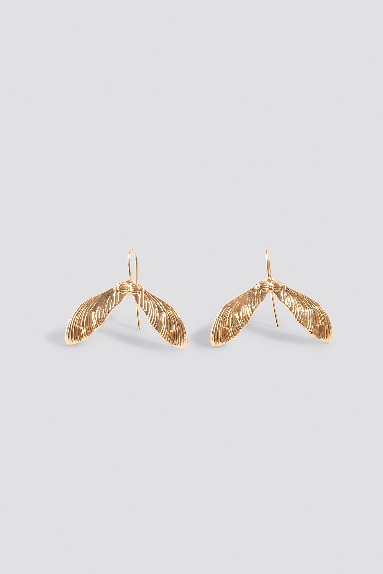 Mini Leaf Earrings NA-KD.COM