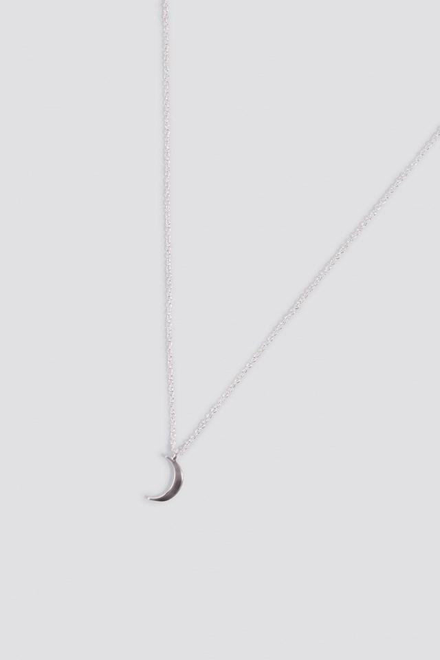 Mini Moon Necklace NA-KD.COM