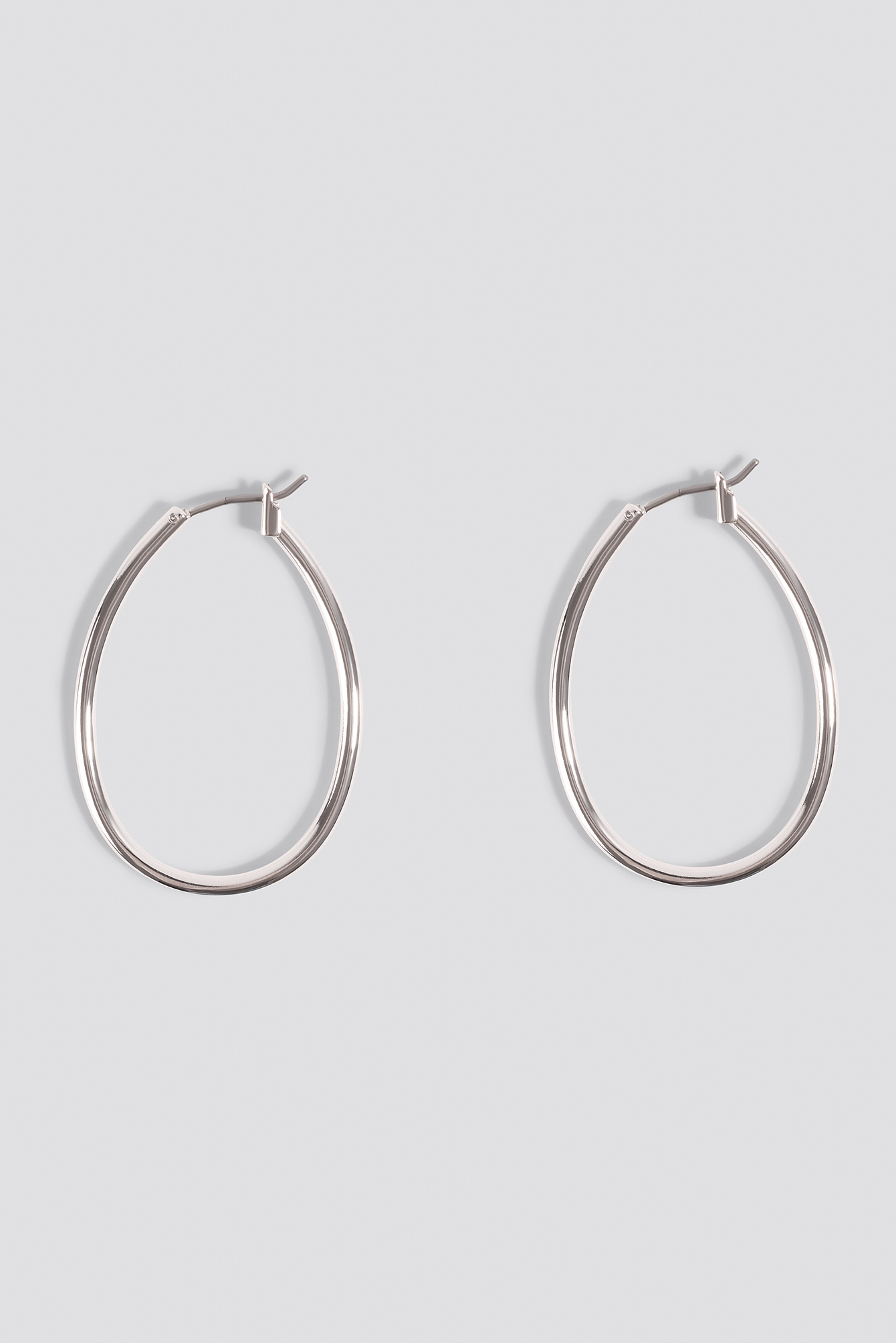 Mini Oval Hoop Earrings NA-KD.COM