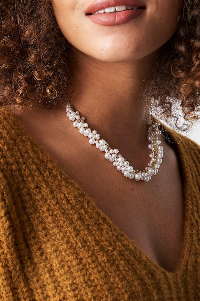 Mini Pearls Short Necklace NA-KD.COM