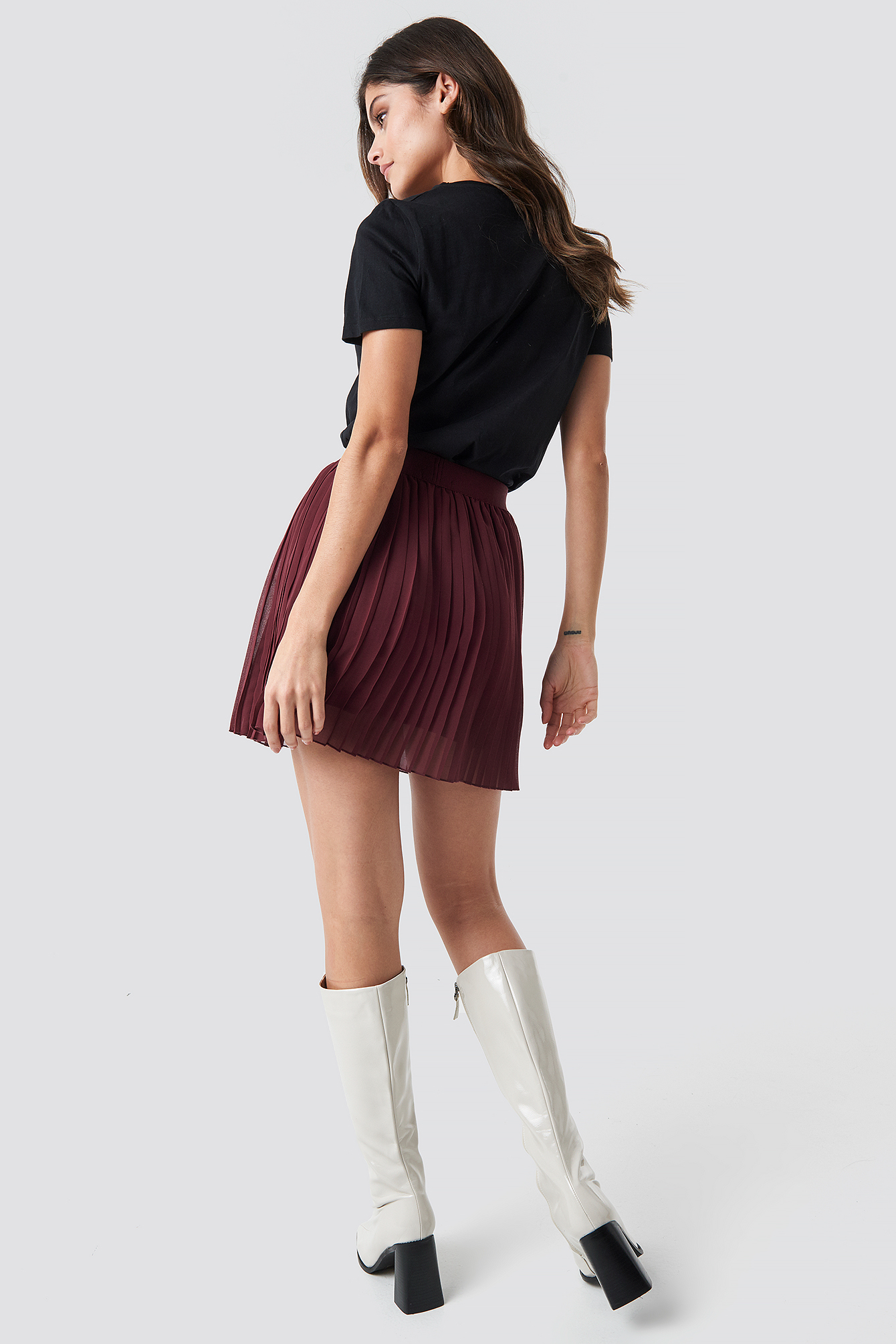 Mini Pleated Skirt NA-KD.COM