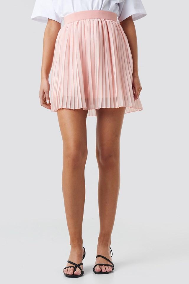 Mini Pleated Skirt NA-KD.COM