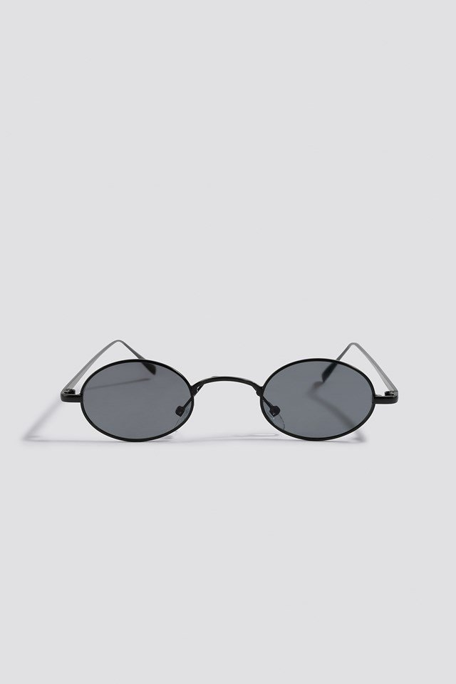 Mini Retro Sunglasses Black