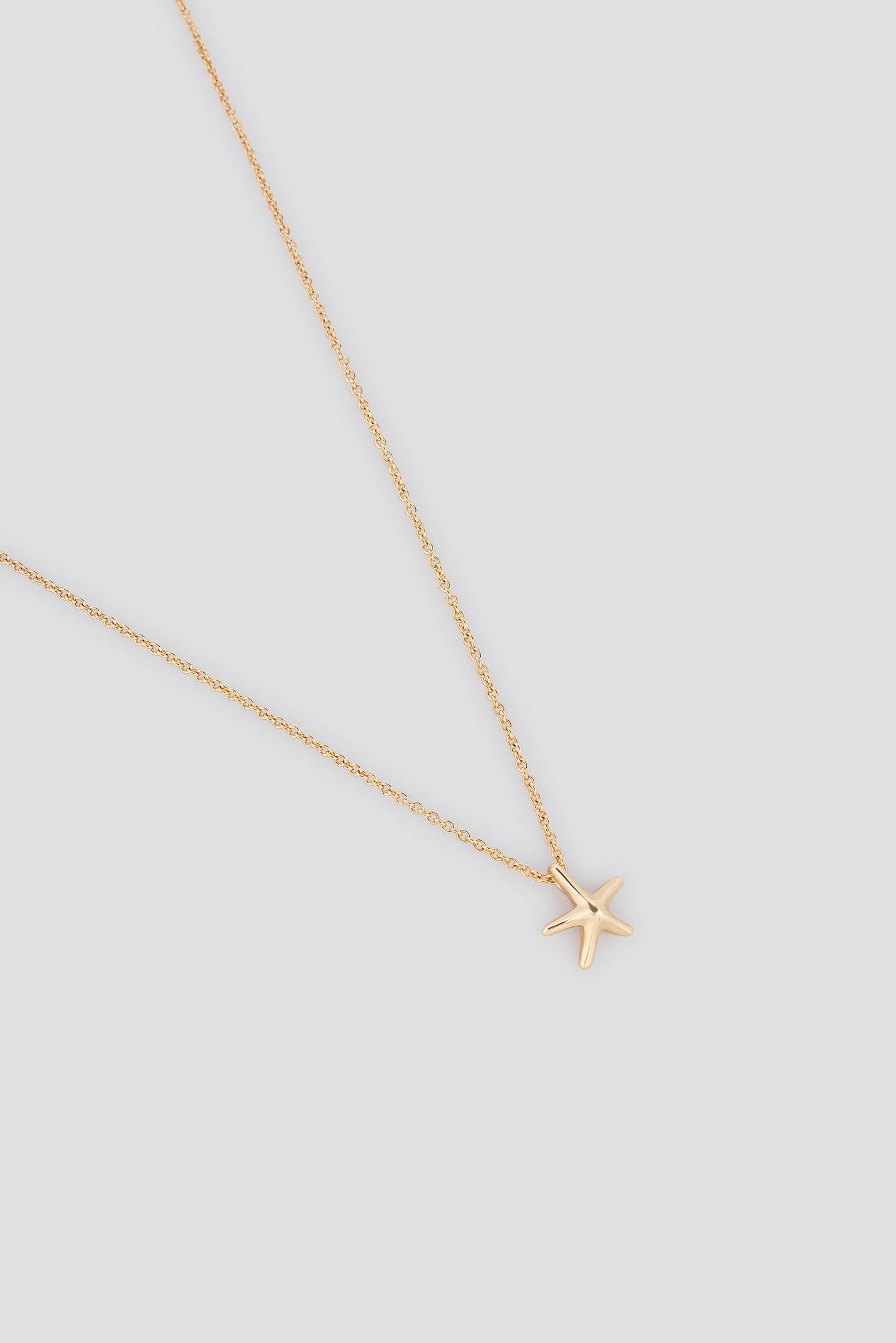 Mini Sea Star Necklace NA-KD.COM