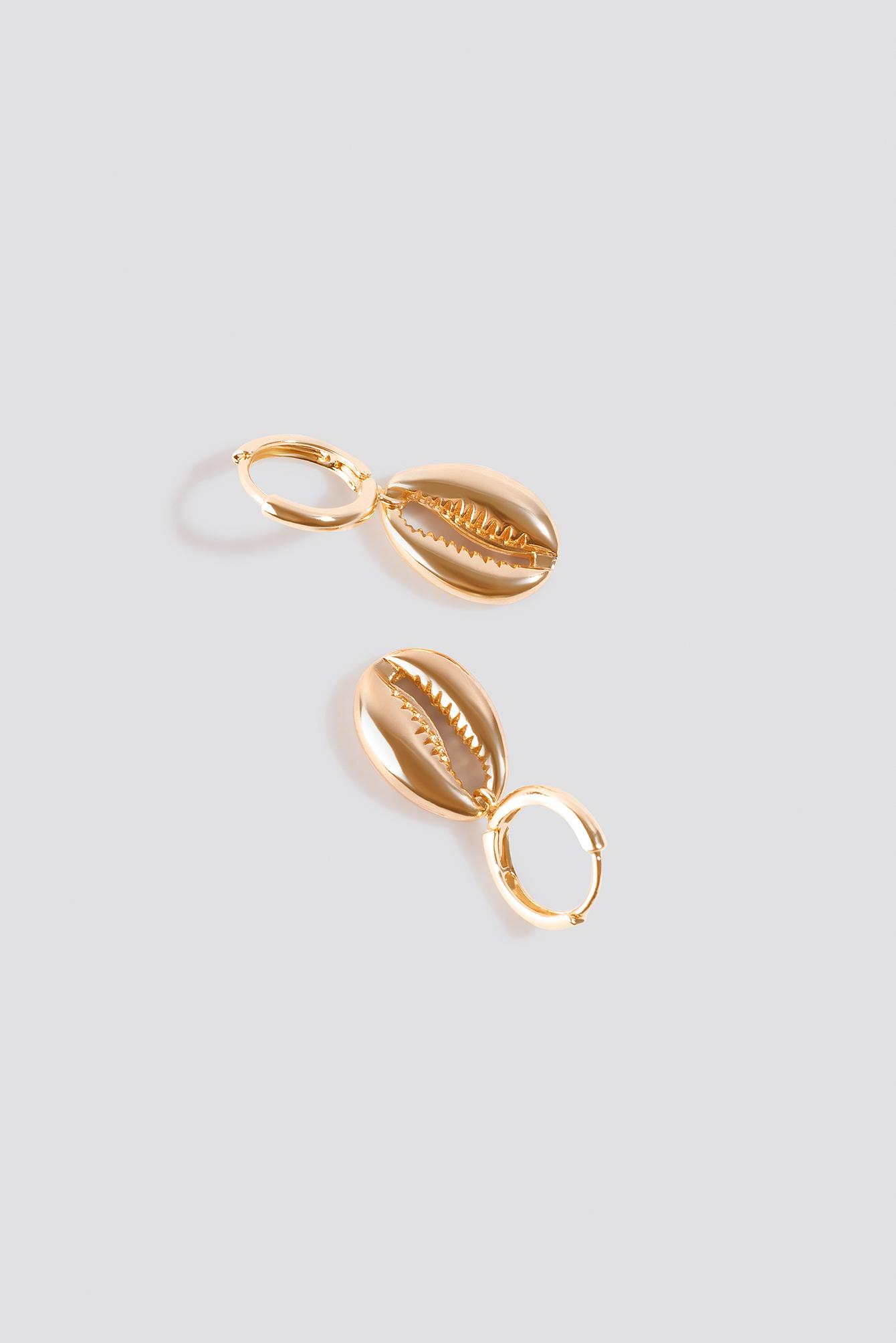 Mini Shell Pendant Earrings NA-KD.COM