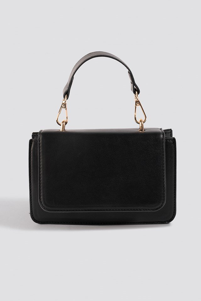 Mini Squared Crossbody Bag Black