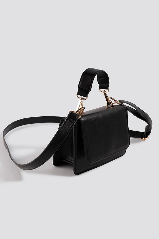 Mini Squared Crossbody Bag Black