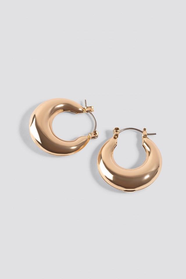 Mini Thick Hoop Earrings NA-KD.COM