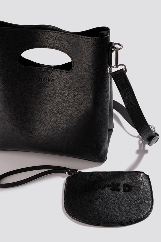 Mini Tote Bag Black