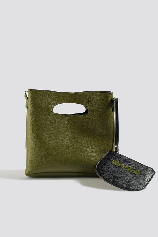 Mini Tote Bag Dark Olive