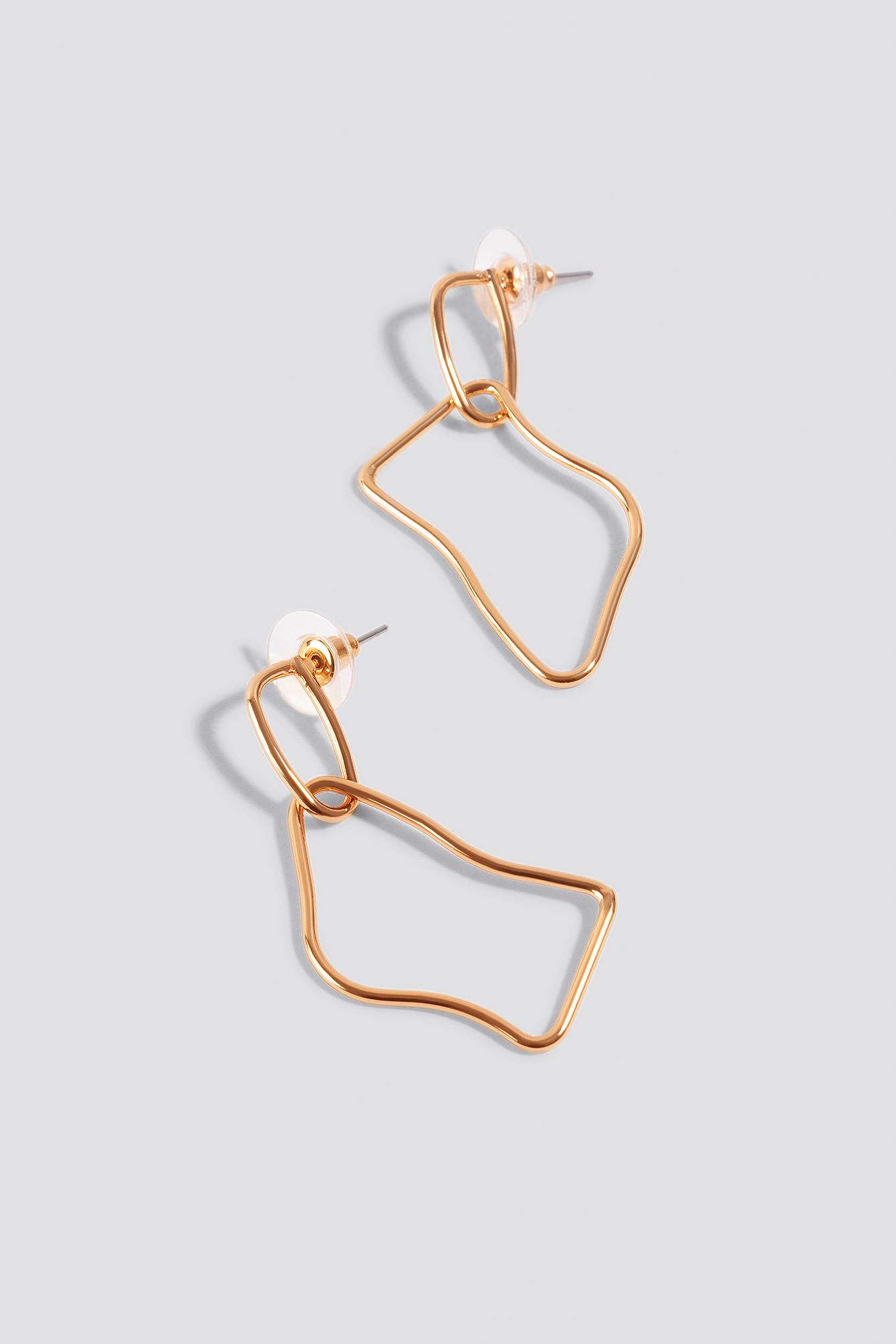 Mini Uneven Earrings NA-KD.COM