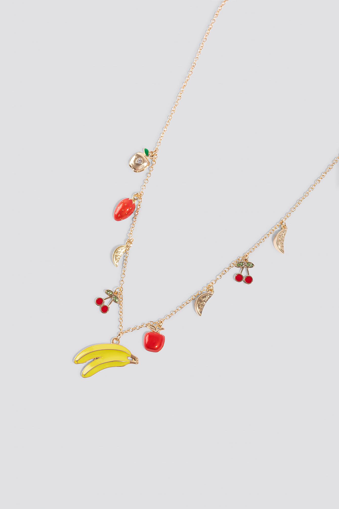 Mixed Fruits Necklace NA-KD.COM