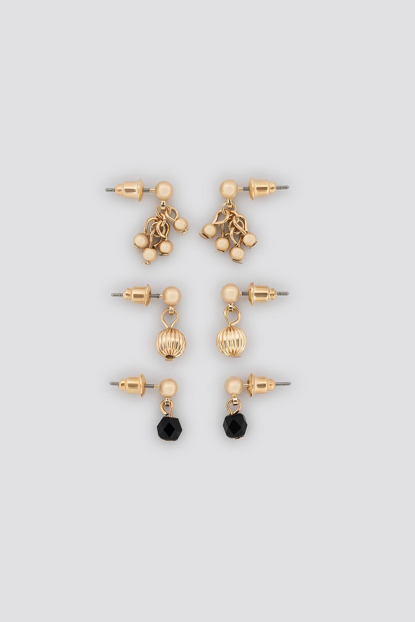 Mixed Mini Earring Set NA-KD.COM