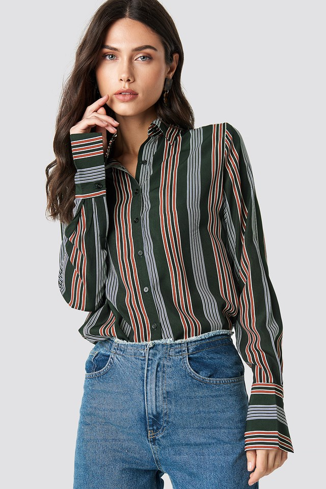 Mixed Stripes Shirt NA-KD