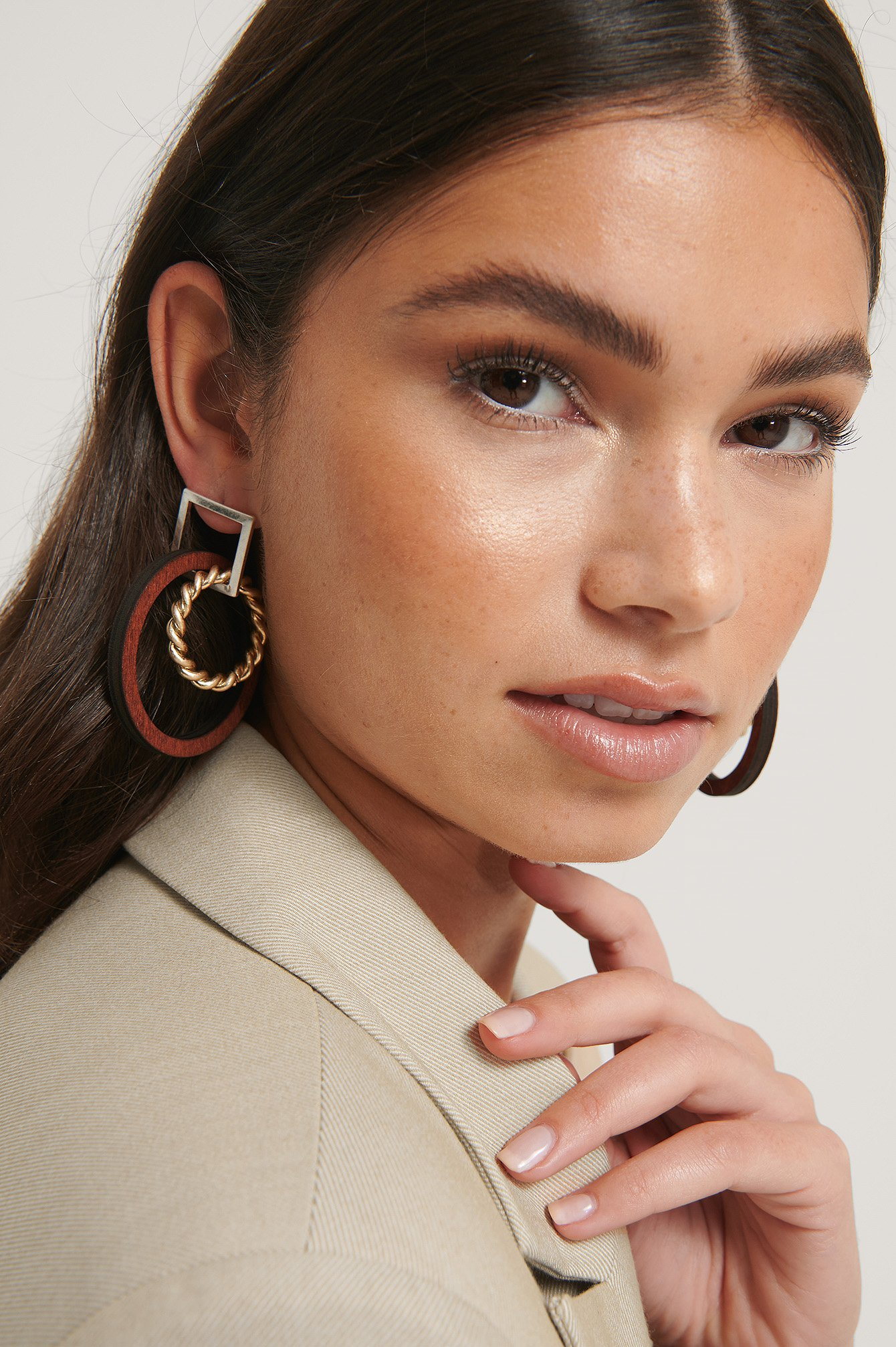 NA-KD Accessories Hoops - Multicolor