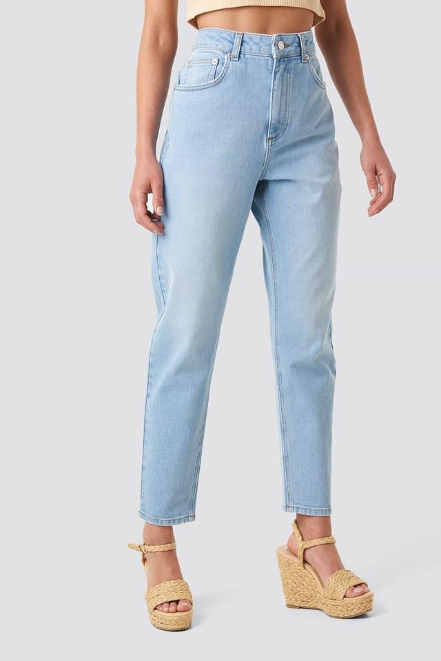 Mom Jeans Light Blue