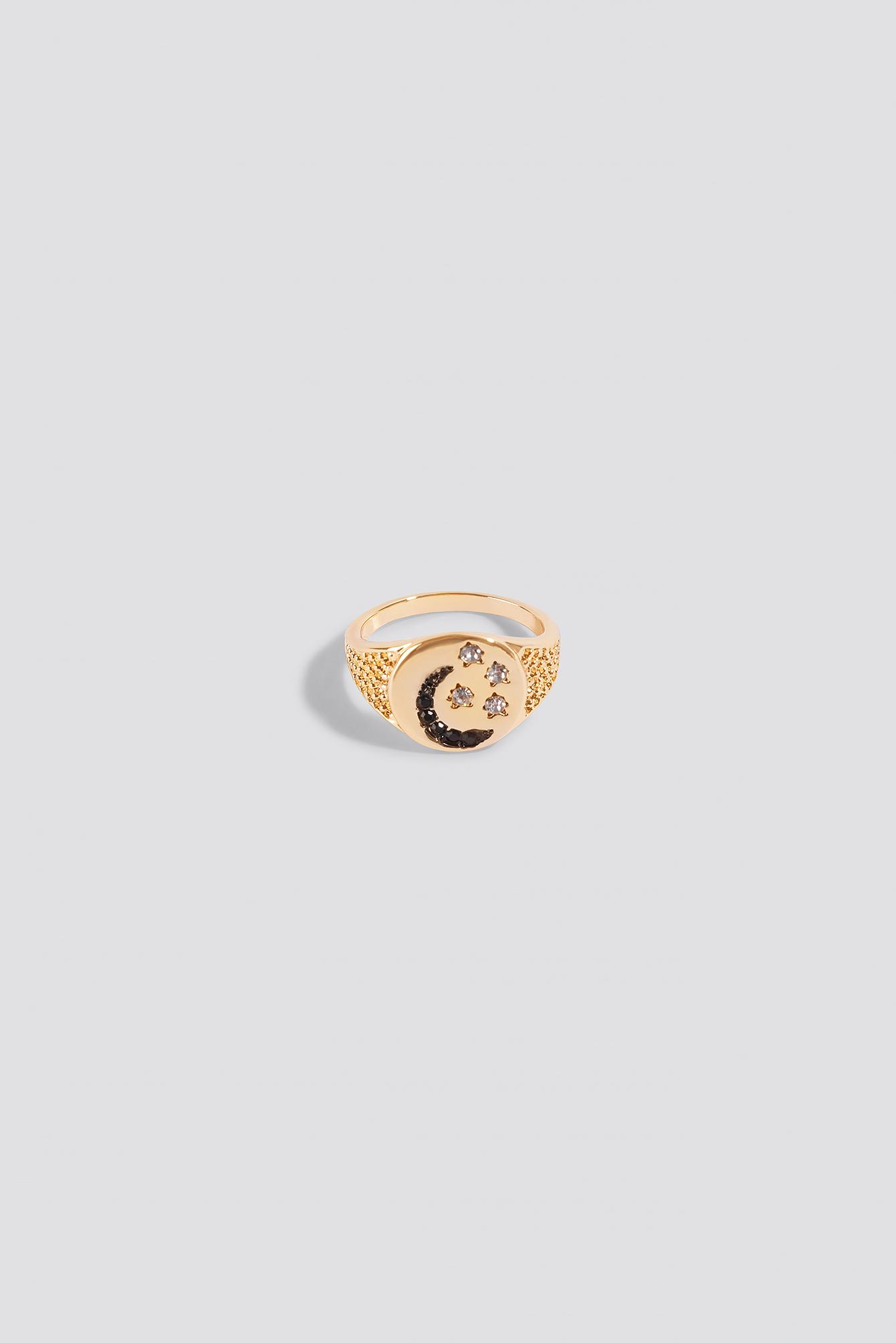 Moon Stone Ring NA-KD.COM