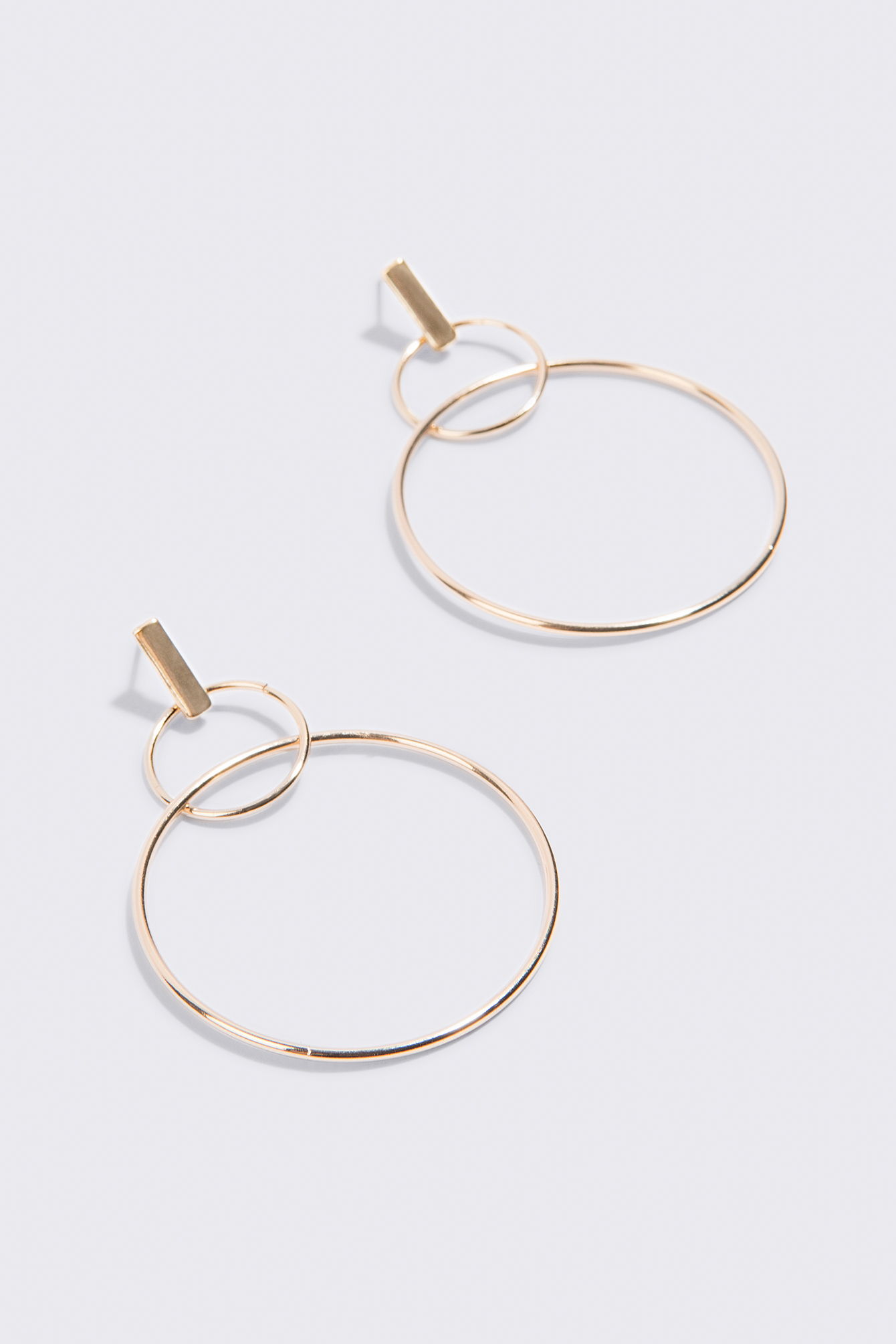 Multi Ring Stud Earrings NA-KD.COM