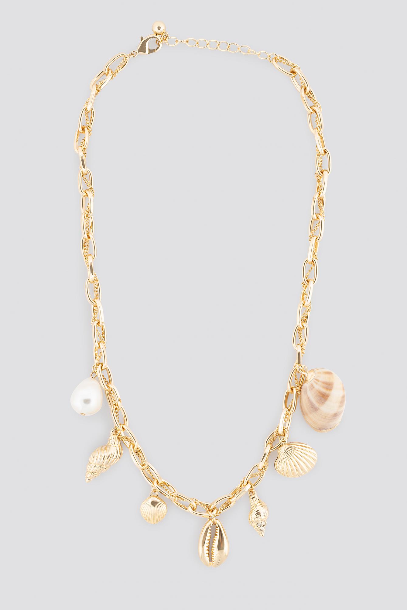 Multi Sea Pendant Necklace NA-KD.COM
