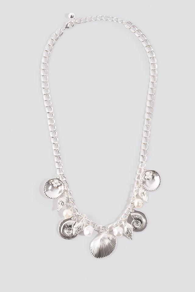 Multi Shell Pendant Necklace NA-KD.COM