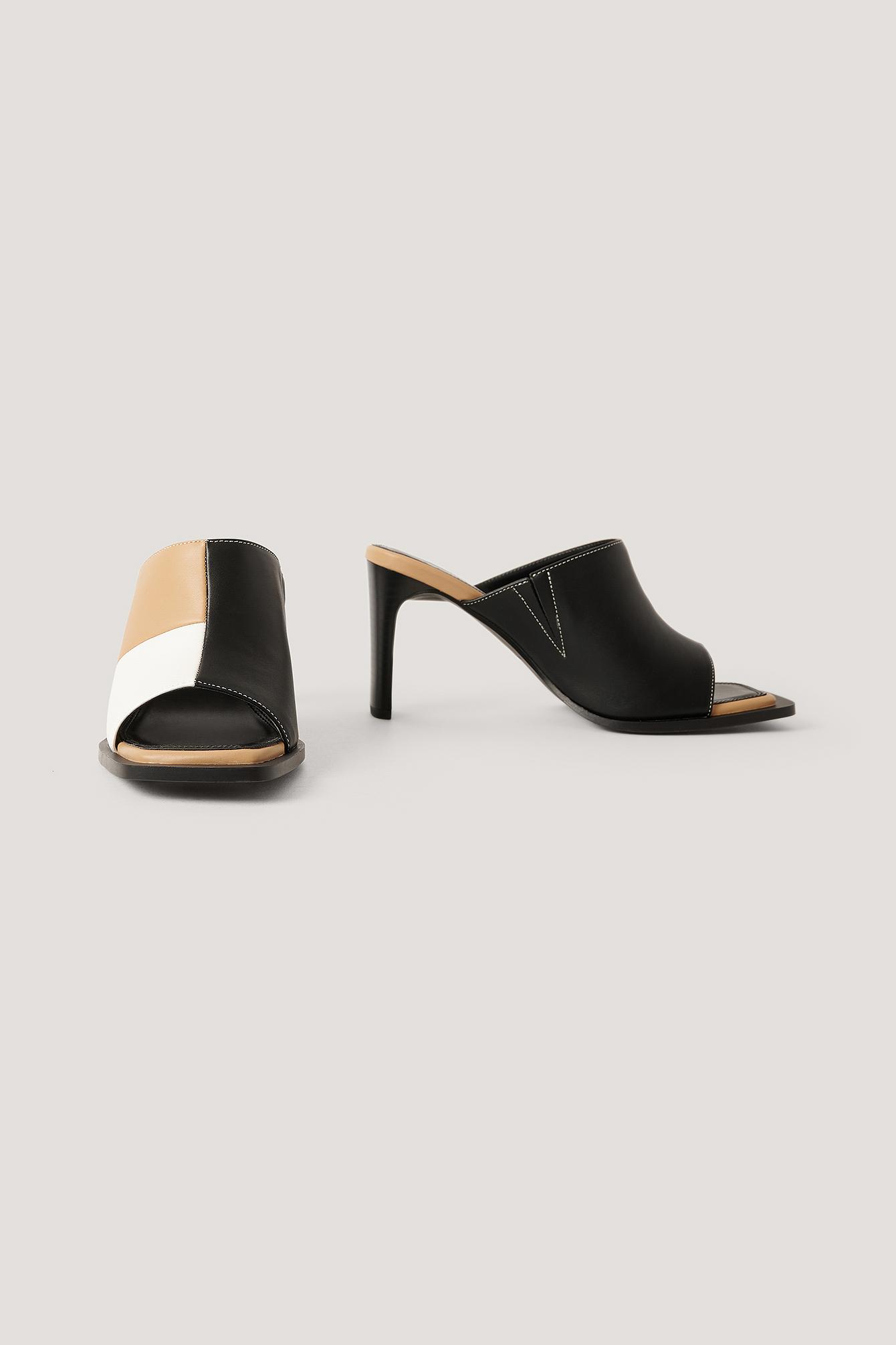 NA-KD Shoes Flerfarvede Mules - Multicolor