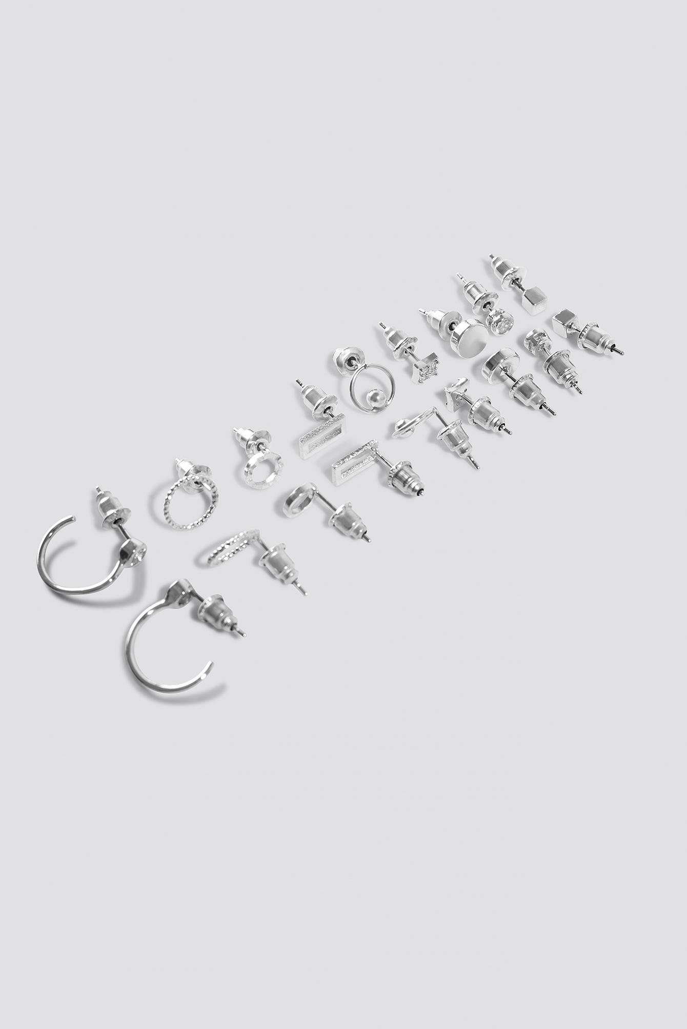 Multipack Earstuds (9 Sets) NA-KD.COM