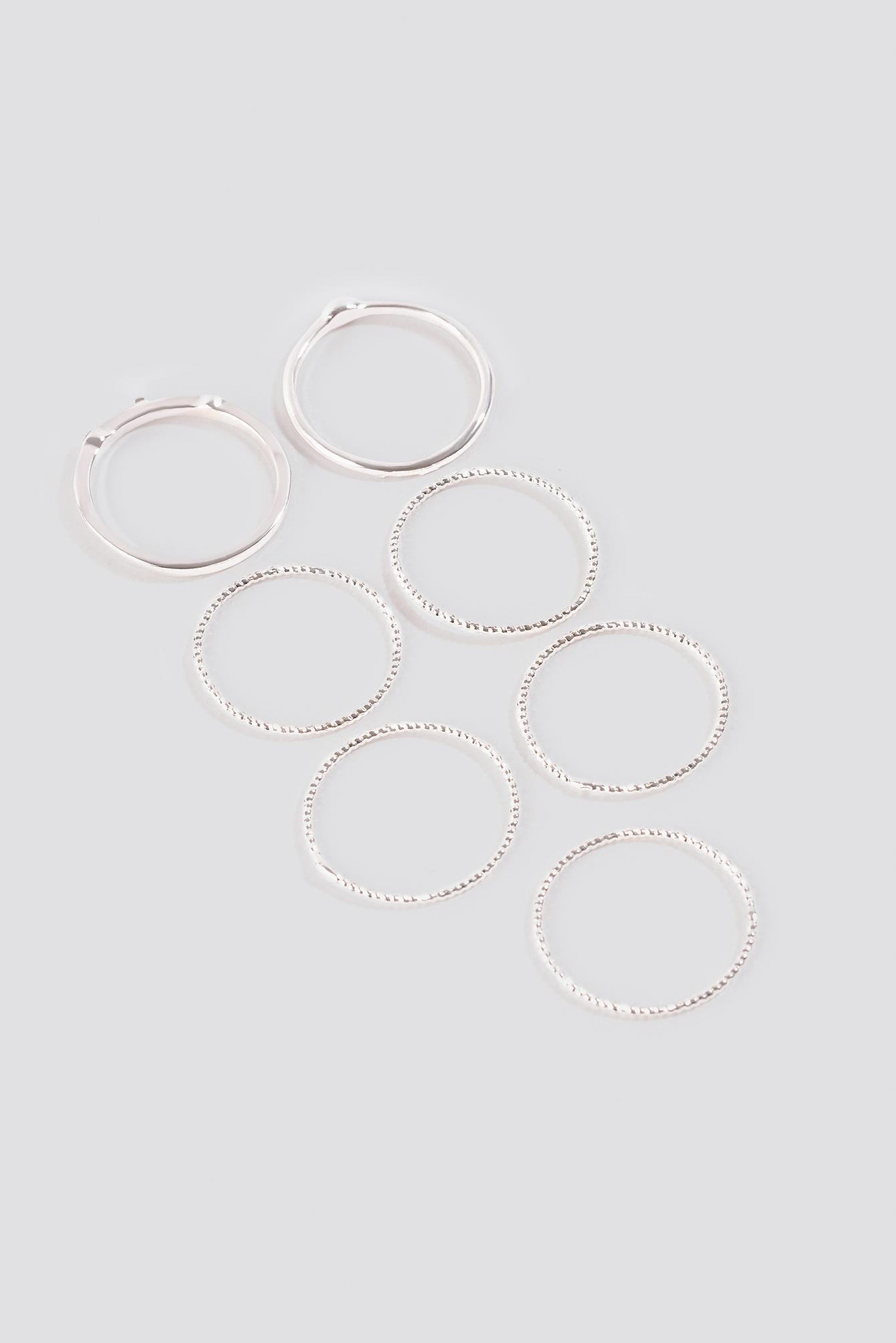 Multipack Fine Rings NA-KD.COM