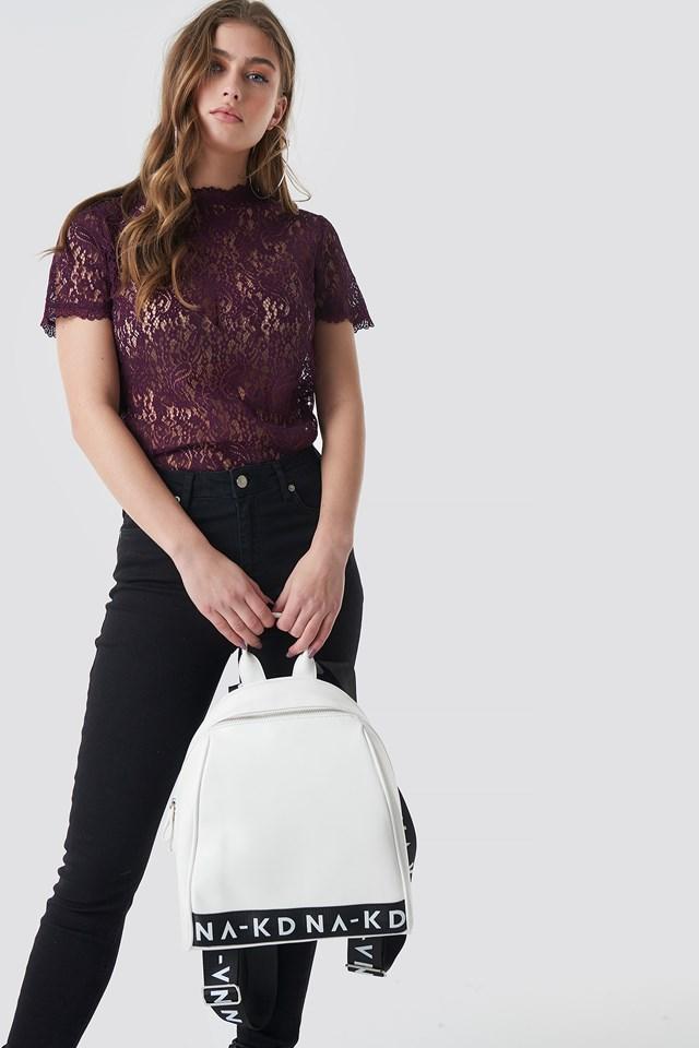 NA-KD Backpack White