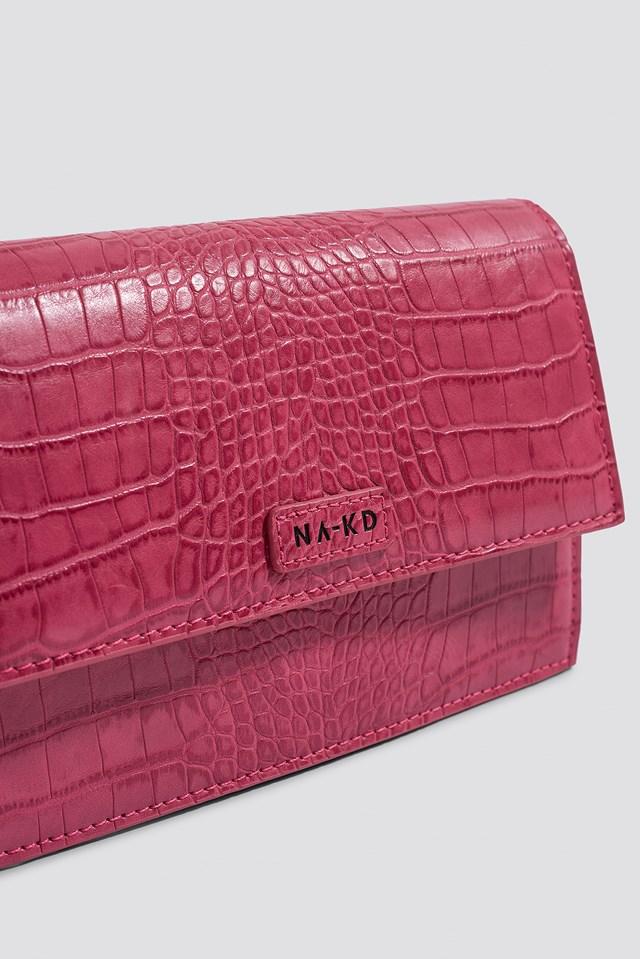 NA-KD Bum Bag Hot Pink