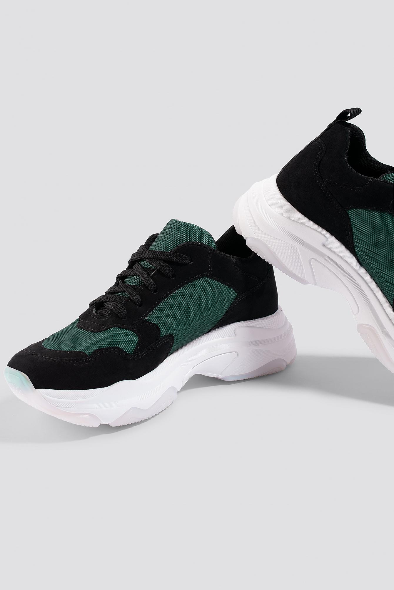na-kd shoes -  NA-KD Chunky Trainers - Black