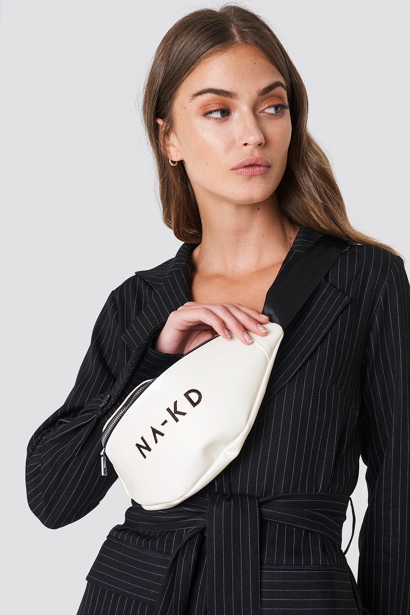 na-kd accessories -  NA-KD Basic Bum Bag - White