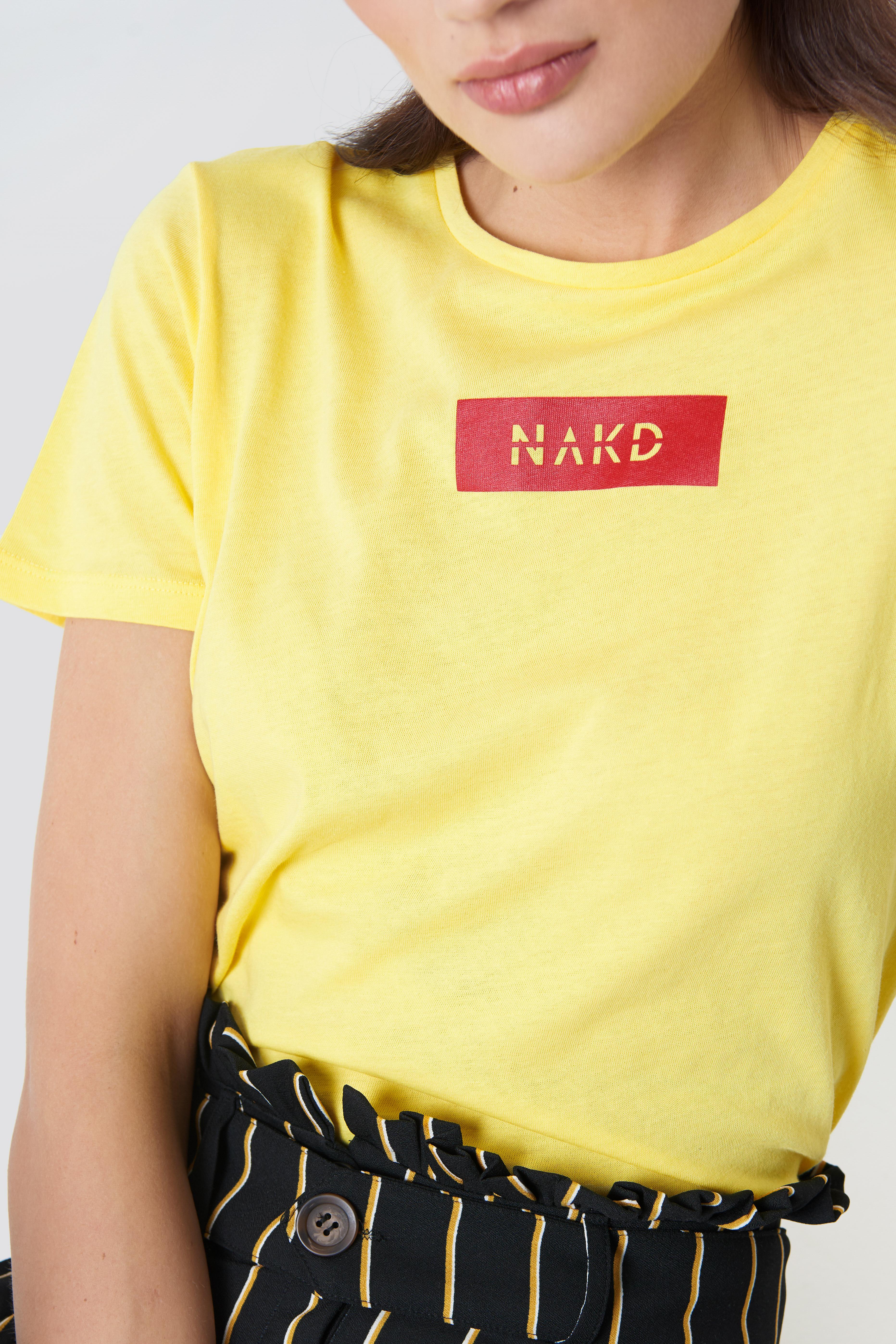NA-KD Logo Tee NA-KD.COM