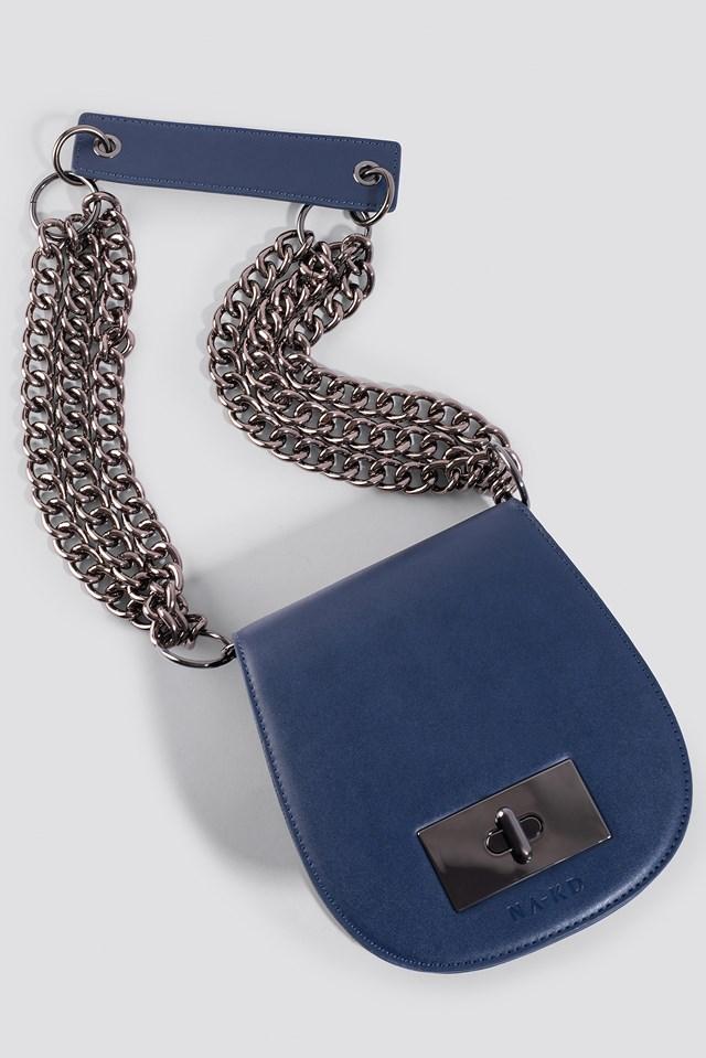 NA-KD Shoulder Bag Navy
