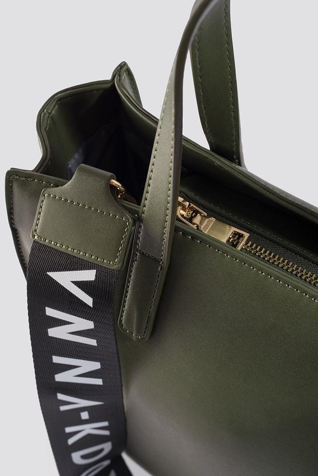 NA-KD Tote Bag Green