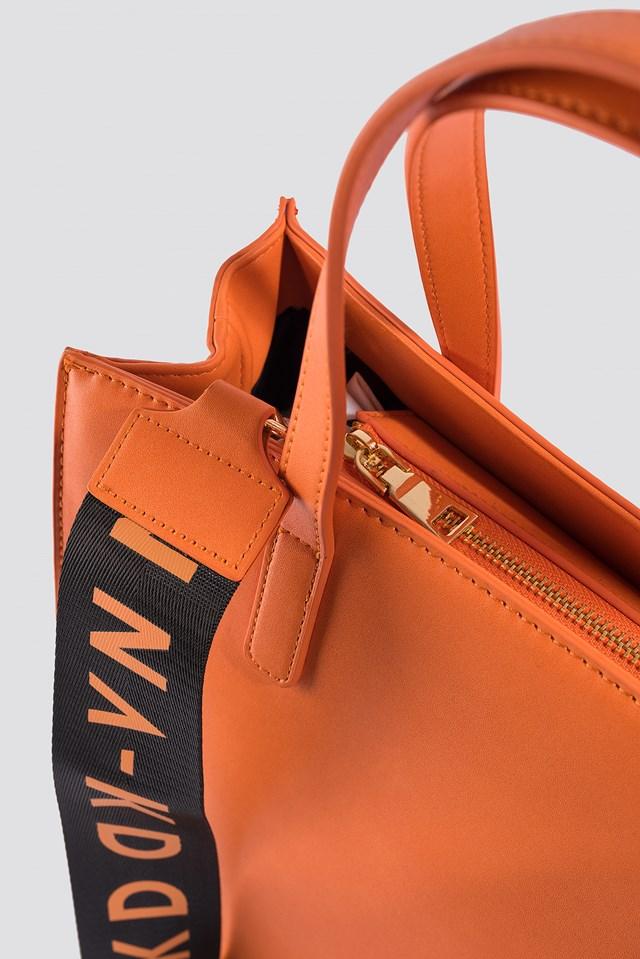NA-KD Tote Bag Orange